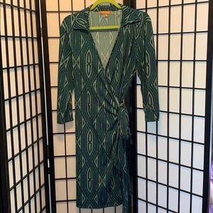 Ellen Tracy Wrap Dress - L